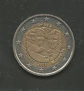 Belgio, 2 Euro, Giornata Della Donna, 2011. - Belgio