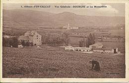 CPA Début 1900 : Abbaye D'En Calcat (81) - Vue Sur Dourgne Et Les Monastères - Dourgne