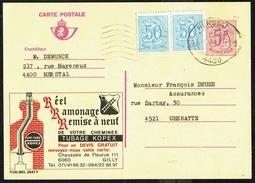 """CP Public. N° 2647 - """" TUBAGE Pour Cheminées KOPEX """" -  Circulé - Used - Gelaufen - 1979. - Entiers Postaux"""