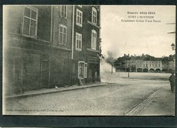 CPA - Guerre 1914-1915 - PONT A MOUSSON - Eclatement D'obus Place Duroc - Guerre 1914-18