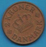 DANMARK 2 KRONER 1940 Christian X KM# 825 - Danemark