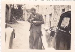 26131 Photo Bretagne 22 Ou 29 Pont-neuf  Juillet 1937 -photographe-  France -1937- -Rennes 35 - - Lieux