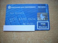 Credit Card No 7!!! Poland!!! - Geldkarten (Ablauf Min. 10 Jahre)