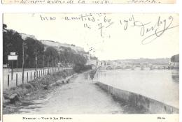 CPA..  NAMUR.......VUE DE LA PLANTE ...  TBE...1905.. - Namur