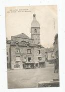 Cp , 15 , MURAT , Place De La BOUCHERIE , Voyagée 1908 - Murat