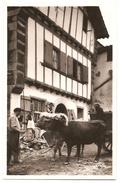 PAYS BASQUE - Attelage Et Maison Basque - Flor 3461 - Non Voyagée - Carte Peu Courante - Tbe - Attelages