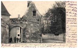 78 - VERNEUIL -- Porte François 1er  , Rue Des Graviers - Verneuil Sur Seine