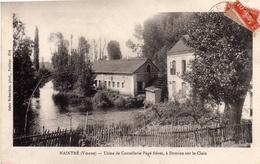 Naintré: Usine De Coutellerie Pagé Frères, à Domine Sur Le Clain. - France