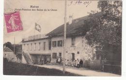 SUISSE - MATRAN - Hôtel-Pension Des Bains De La Glane - FR Fribourg