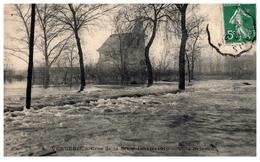 78 - VERNEUIL -- Crue De La Seine Janvier 1910 - Villa Dejanzé - Verneuil Sur Seine