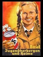 Militaria WW2 - Photo Affiche Allemande - Jugenherbergern Und Heime - 1939-45