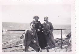 26138 Deux 2 Photo Saint St Guenole France -1938- Rennes 35 - Lieux
