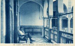 ALGERIE - ALGER - Hôpital Maillot - Une Galerie Du Pavillon Des Officiers. - Algiers
