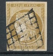 N°1 GRILLE 1849.VARIETE FILET