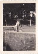 26140 Trois 3 Photo 35 Treverien -1937- Rennes 35 France -pecheur