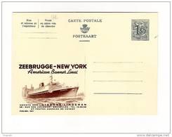 Publibel Neuve N° 1647 (ZEEBRUGGE-NEW YORK, American Banner Lines; Paquebot Atlantic) - Publibels