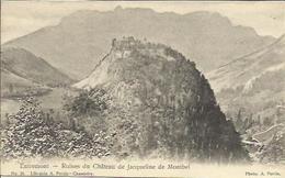 CPA D'Entremont - Ruines Du Château De Jacqueline De Montbel. - France