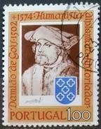 PORTUGAL 1974 The 400th Anniversary Of The Death Of De Damiao De Gois. USADO - USED.