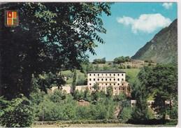 Cpa Andorre Valls Andorra 1964 Emetteur De Radio Andorre  Timbre Et Cachet Andorre - Andorra