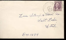 1935  Enveloppe   With Scott Nr 720 - Cancelled  Norfolk - Etats-Unis