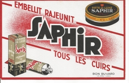 Buvard Saphir. Crème De Luxe Rajeunit La Chaussure. - Scarpe