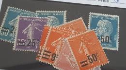 LOT 344704 TIMBRE DE FRANCE NEUF** N°217 A 228  VALEUR 36 EUROS