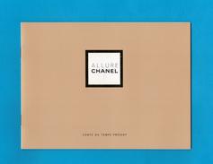 """Cartes Parfumées Carte LIVRET CHANEL ALLURE """"CONTE DU TEMPS PRÉSENT""""   1996 De CHANEL 10 PAGES RECTO VERSO - Cartes Parfumées"""
