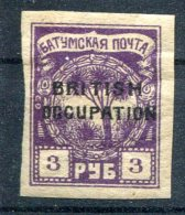Russie     Occupation Britannique             12  *