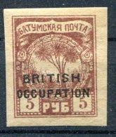 Russie     Occupation Britannique             13  *
