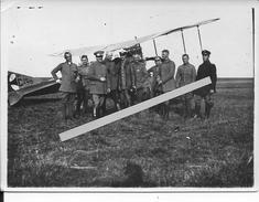 Aviation Bavaroise Escadrille 20/15 Avion Albatros C III Avec Ses Pilotes Et Observateurs 1 Photo 1914-1918 14-18 Ww1 - War, Military