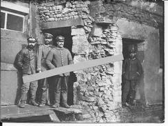 Aviation Allemande Bavaroise Mécaniciens Radfahrers 1 Photo 1914-1918 14-18 Ww1 - War, Military