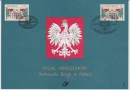 2782 HK - Mniszech-Paleis In Warschau - Palais Mniszech à Varsovie - Cartes Souvenir