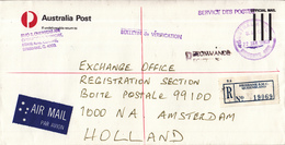 Australië - Recommandé/Registered Letter/Einschreiben - Brisbane D.M.C. Queensland - Marcophilie