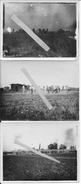 Laneuville Sur Meuse L'aéroport Allemand Construction Des Hangars Et Des Pistes 13 Photos 1914-1918 14-18 Ww1 - Célébrités