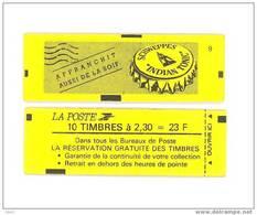 """CARNET 2614-C 4 Marianne De Briat  """"SCHWEPPES"""" Fermé Daté 8/2/90. Parfait état Bas Prix RARE - Carnets"""