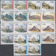 2007.464 CUBA MNH 2007. NEW 7 WONDERS WORLD, TAJ MAHAL, CRISTO REDENTOR, MACHU PICHU CHINA WALL, PETRA, CHICHEN ITZA. - Cuba