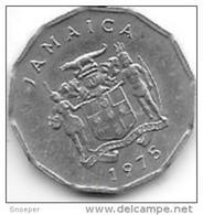 Jamaica 1 Cent 1975  Km 64   Unc - Jamaica