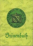 Bad Grönenbach, Ein Wegweiser Durch Den Ort Und Seine Geschichte, Von Luitpold Dorn, 96 Seiten, 1954 - Guide Turistiche