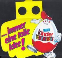 """Werbeanhänger """"...immer Eine Tolle Idee!"""" Mit ÜberraschungseiMännchen, Um 1996 - Ü-Ei"""
