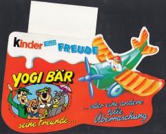"""Werbeanhänger """"Yogi Bär, Seine Freunde Oder..."""" Mit Flugzeug, Um 1996 - Ü-Ei"""