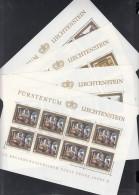 LIECHTENSTEIN 706-709, Kleinbogensatz (4x2), Postfrisch **, 40. Jahrestag Der Thronbesteigung Von Fürst Franz Josef 1978