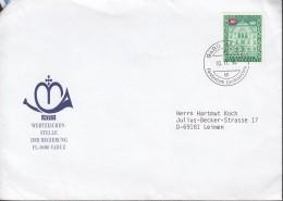 LIECHTENSTEIN Dienst 63 EF, Auf Brief, Vaduz 10.11.1994