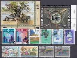 UNO WIEN Jahrgang 1994, Gestempelt, Komplett 160-177 - Wien - Internationales Zentrum