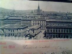 AUSTRIA  GRUSS AUS WIEN VIENNA STAMP TIMBRE 2 K 1898 GA12909 - Otros