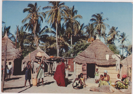 Afrique,africa,dahomey,benin, Pres Togo,COTONOU,1967,village,plis - Benin