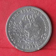 BRAZIL 400 REIS 1901 -    KM# 505 - (Nº17973) - Brésil