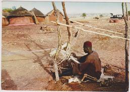 AFRIQUE DE L´OUEST,AFRICA ,TOGO, Prés BENIN,DAHOMEY,METIER,TISSEUR - Togo
