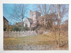 Postcard Brecon Cathedral My Ref B2491 - Breconshire