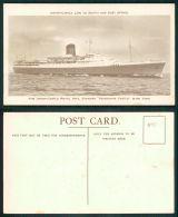 BARCOS SHIP BATEAU PAQUEBOT STEAMER [BARCOS #01115] - UNION CASTLE ROYAL MAIL STEAMER PENDENNIS CASTLE - Schiffe