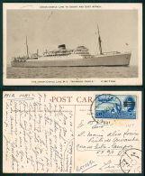 BARCOS SHIP BATEAU PAQUEBOT STEAMER [BARCOS #01129] - UNION CASTLE LINE MV WARWICK CASTLE - Ships